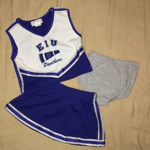 Other - 🎈SALE🎈EIU Toddler Cheer Outfit - 3 Piece -4T
